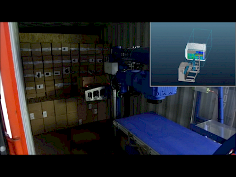 Automatic unloading of carton boxes with the Copal C2