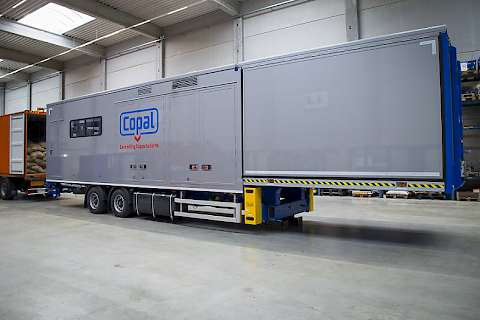 Copal C2 Mobile for semi-automatic unloading containers