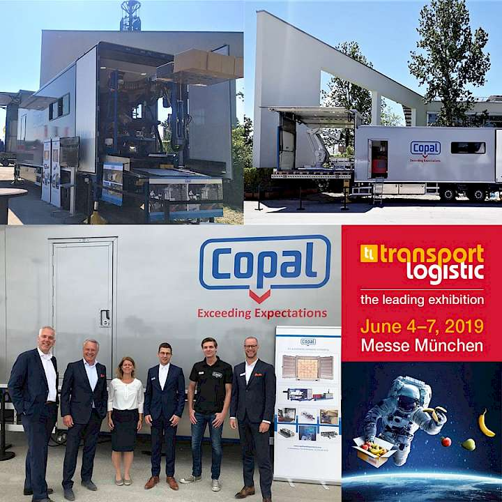 Copal at the TransportLogistic Munchen 2019