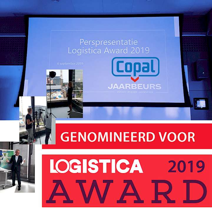 Copal nominated for Logistica Award 2019